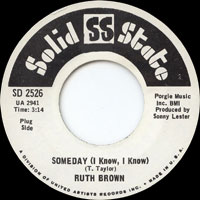 Ruth Brown - As Long As I'm Moving - I Can See Everybody's Baby